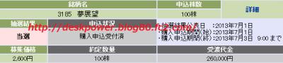夢展望IPO当選