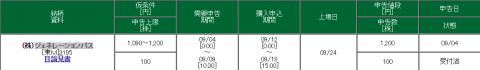 松井証券のIPO申込