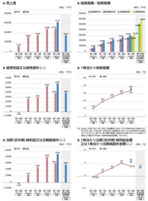 データセクション(3905)IPO 売上と業績
