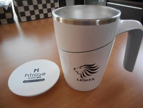 ヒロセ通商上場記念マグカップ