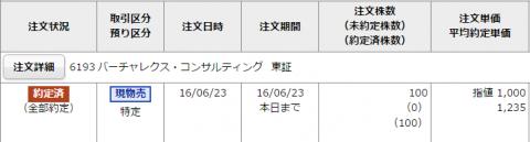 バーチャレクス・コンサルティングIPO初値売却
