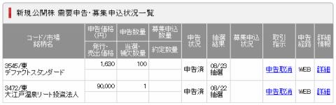 SMBC日興証券IPO当選確率
