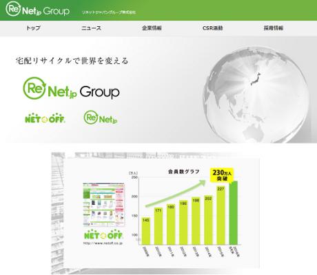 リネットジャパングループ(3556)IPO新規上場承認
