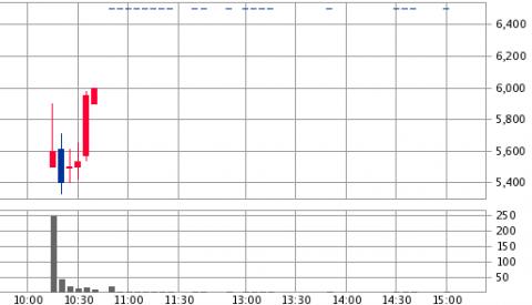 セグエグループ(3968)IPO初値結果後はストップ高