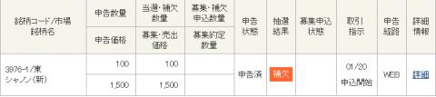 東洋証券IPO当選補欠
