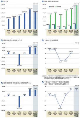 インターネットインフィニティー(6545)IPO業績と利益