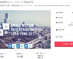 クラウドバンクに20万円投資実行