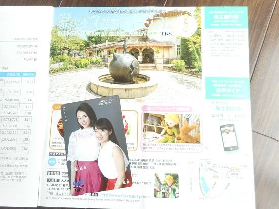 東京放送ホールディングスのクオカード