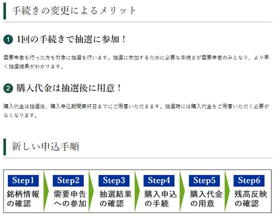 松井証券IPO抽選が前受け金不要になる