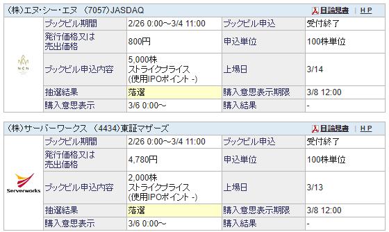 サーバーワークス公開価格4780円決定