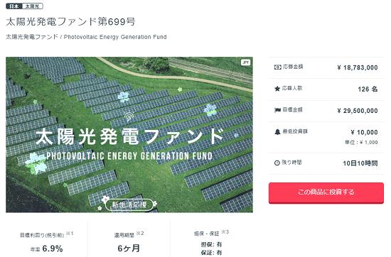 太陽光発電ファンド