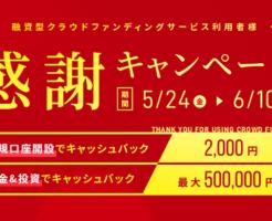 クラウドバンク口座開設2,000円キャッシュバック