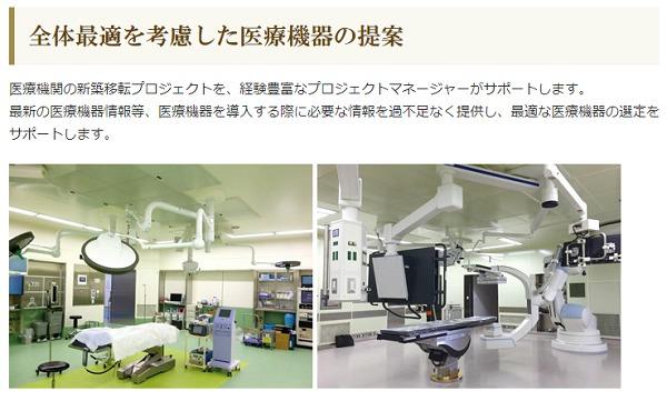 レオクラン医療機器の一例画像