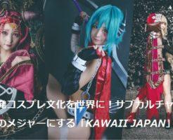 KAWAII JAPAN(カワイイジャパン)IPO候補、ファンディーノで上場を目指す