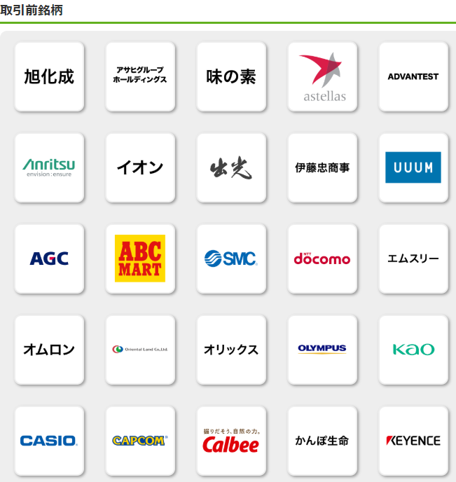 PayPay証券日本株の詳細