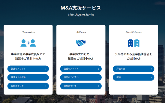M&A支援サービスの概要
