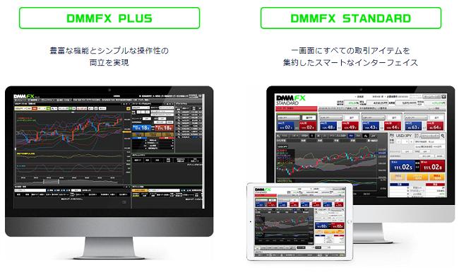 DMM FXパソコン取引