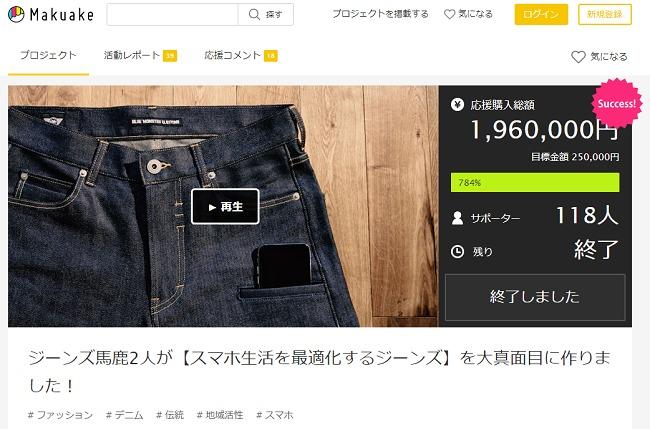 ブリッツワークスがMakuake(マクアケ)クラウドファンディング成功