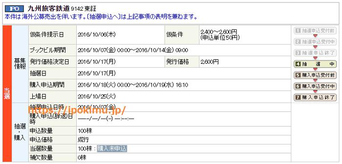 丸三証券(マルサントレード)IPO当選
