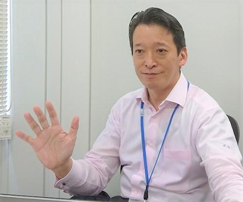 ユニコーン安田次郎さんの笑顔