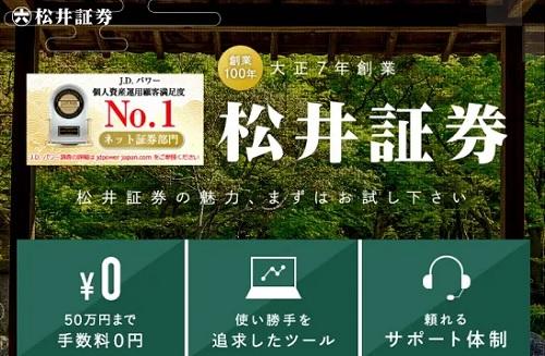 松井証券のIPOルールと当選実績