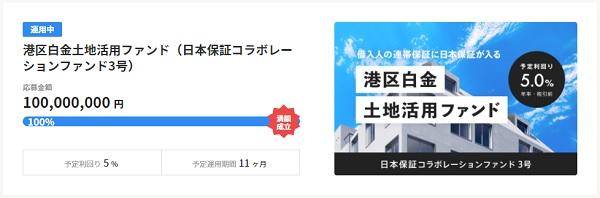 日本保証コラボレーションファンド3号