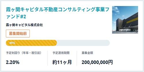 霞ヶ関キャピタル不動産コンサルティング事業ファンド