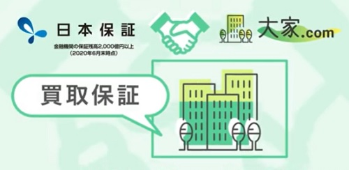 大家.comと日本保証の関係