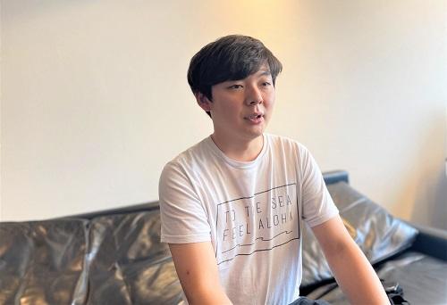 WARASHIBE入澤優智氏の写真