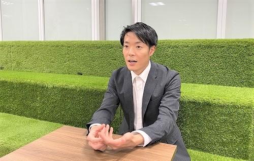 TECROWD遠藤幸一郎様にインタビュー(別画像)