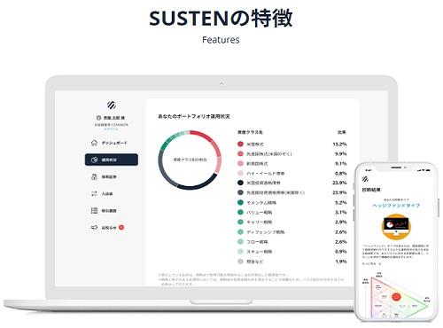 SUSTEN(サステン)の仕組みと特徴