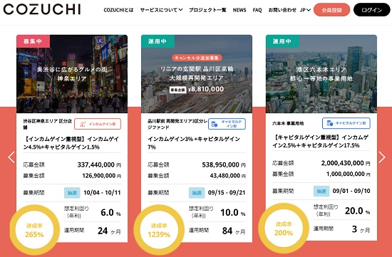 COZUCHI(コヅチ)ファンドプロジェクト